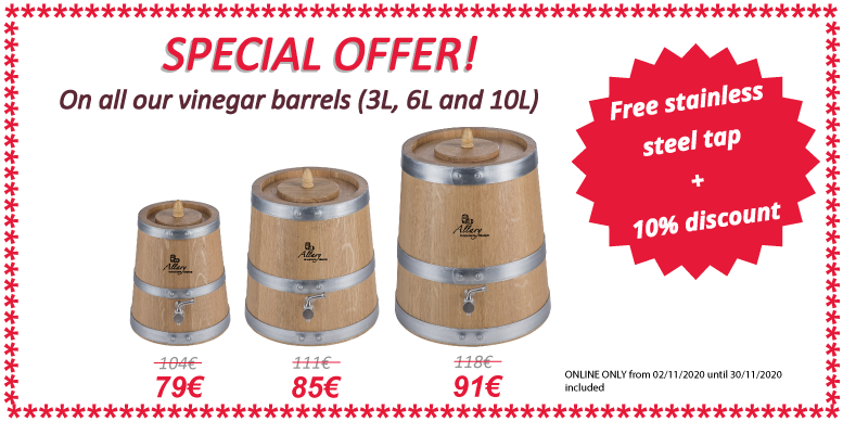 SPECIAL OFFER VINEGAR BARRELS